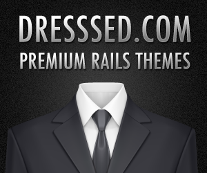 Dresssed.com aims for Premium rails themes